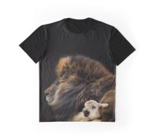 and the lion shall lie down with the lamb Graphic T-Shirt