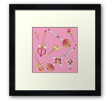 in the name of the moon, i will punish you! Framed Print