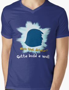 Gotta Build A Wall Mens V-Neck T-Shirt