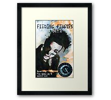 Feeding Fingers 2014 Tour Poster - Toronto, Canada - by Justin Curfman Framed Print