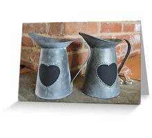 Pails Of Love  Greeting Card