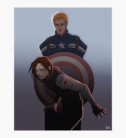 Cap and Buck Photographic Print