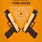 No209 My Lara Croft Tomb Raider minimal movie poster by Chungkong
