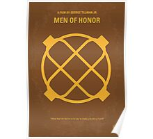 No099 My Men of Honor minimal movie poster Poster