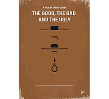 No090 My The Good The Bad The Ugly minimal movie poster Photographic Print