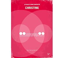 No016 My Christine minimal movie poster Photographic Print
