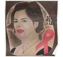 An American actress and cancer spokesperson Poster