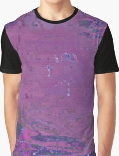 Purple and pink abstract Graphic T-Shirt