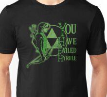 you have failed hyrule Unisex T-Shirt