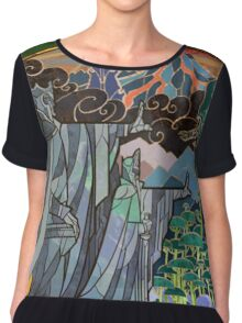 The Gates of Argonath Chiffon Top