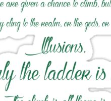 Chaos is a ladder~ Littlefinger Sticker