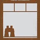 No238 My Rear window minimal movie poster by Chungkong