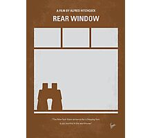 No238 My Rear window minimal movie poster Photographic Print