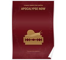 No006 My Apocalypse Now minimal movie poster Poster