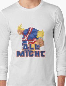 Boku no Hero Academia (My Hero Academia) - All Might Long Sleeve T-Shirt