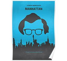 No146 My Manhattan minimal movie poster Poster