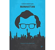 No146 My Manhattan minimal movie poster Photographic Print