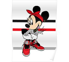 AIR JORDAN MINNIE Poster