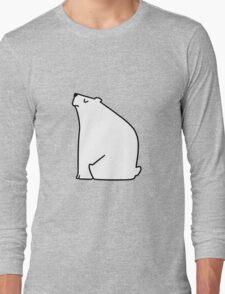 Calm Polar Bear Long Sleeve T-Shirt
