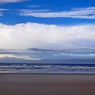 Beach and clouds by joeschmoe96