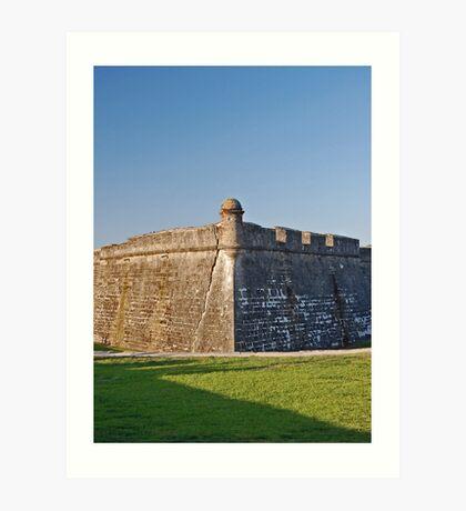 Castillo de San Marcos 03 Art Print