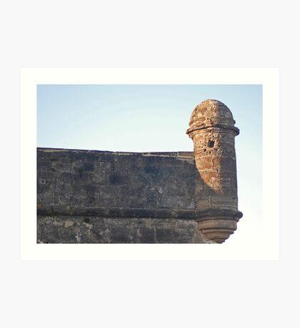 Castillo de San Marcos 08 Art Print