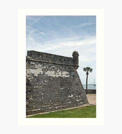Castillo de San Marcos 13 Art Print