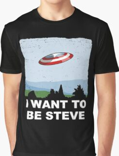 i want to be steve Graphic T-Shirt