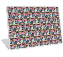 Day of The Dead Skull Collage Laptop Skin