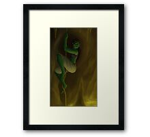 Krunag the Orc Adventurer Framed Print