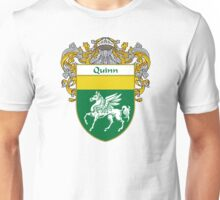 Quinn Coat of Arms / Quinn Family Crest Unisex T-Shirt