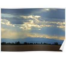 Mountain view Livermore Poster