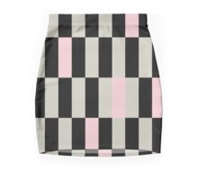 Beautiful Artistic Collection with design Blocks Mini Skirt