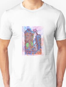 Earth takes over - Blue Unisex T-Shirt