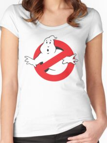 baby ghostbusters Women's Fitted Scoop T-Shirt