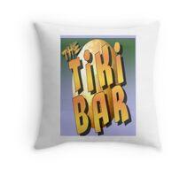 The Tiki Bar Throw Pillow