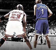 Michael Jordan & Penny Hardaway - It Was Written by hermitcrab