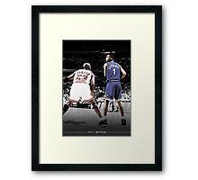 Michael Jordan & Penny Hardaway - It Was Written Framed Print