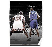 Michael Jordan & Penny Hardaway - It Was Written Poster