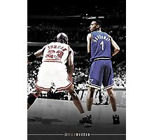 Michael Jordan & Penny Hardaway - It Was Written Photographic Print