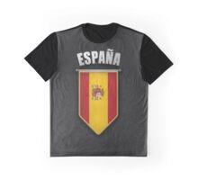 Spain Pennant with high quality leather look Graphic T-Shirt