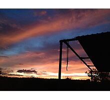 colourful sky Photographic Print