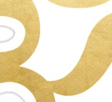 Gold Foil Om Sticker