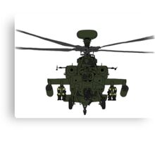 AH-64D Apache Helicopter shirt Canvas Print