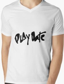 Play Date Mens V-Neck T-Shirt