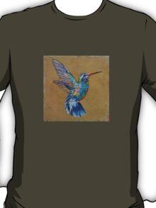 Turquoise Hummingbird T-Shirt