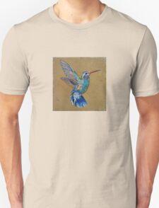 Turquoise Hummingbird Unisex T-Shirt