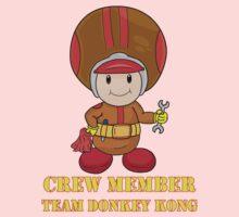 Team Donkey Kong crew member Kids Clothes