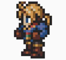Ramza Beoulve sprite - FFRK - Final Fantasy Tactics (FFT) One Piece - Long Sleeve