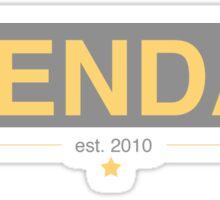 Stendan | EST. 2010 Sticker